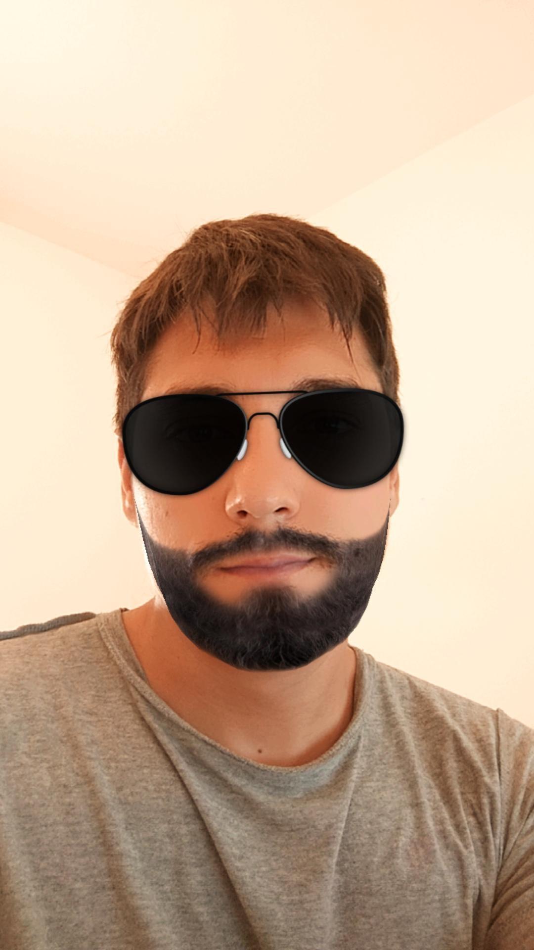 Barba e Óculos