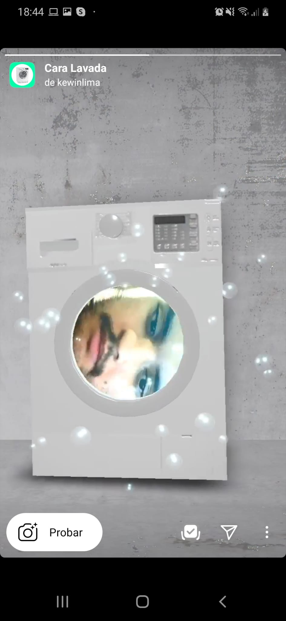 Cara Lavada