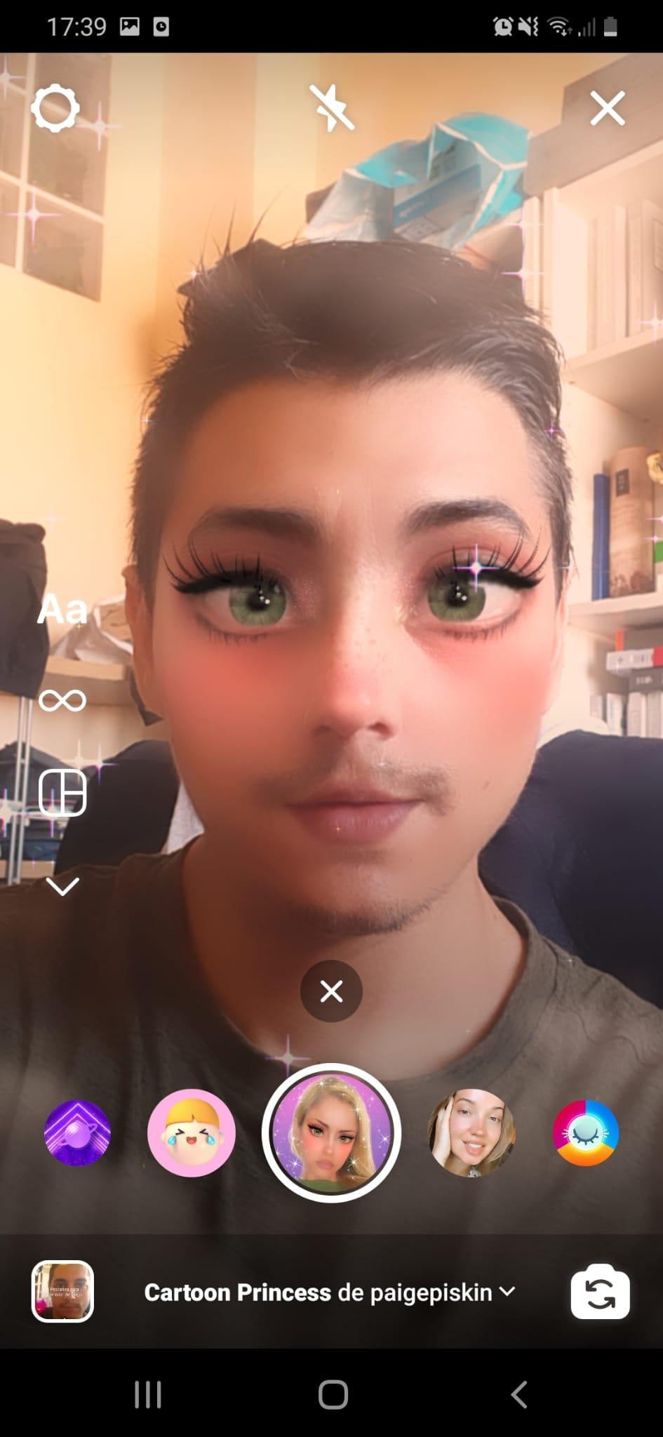 Cartoon Princess (Cute Face)