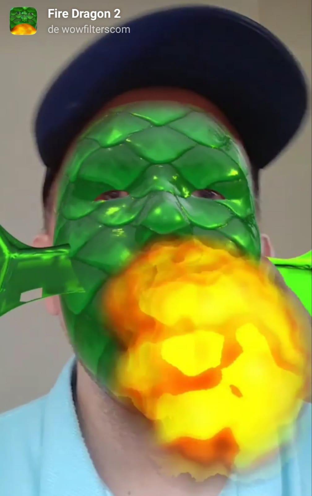 Fire Dragon 2 (Mask)