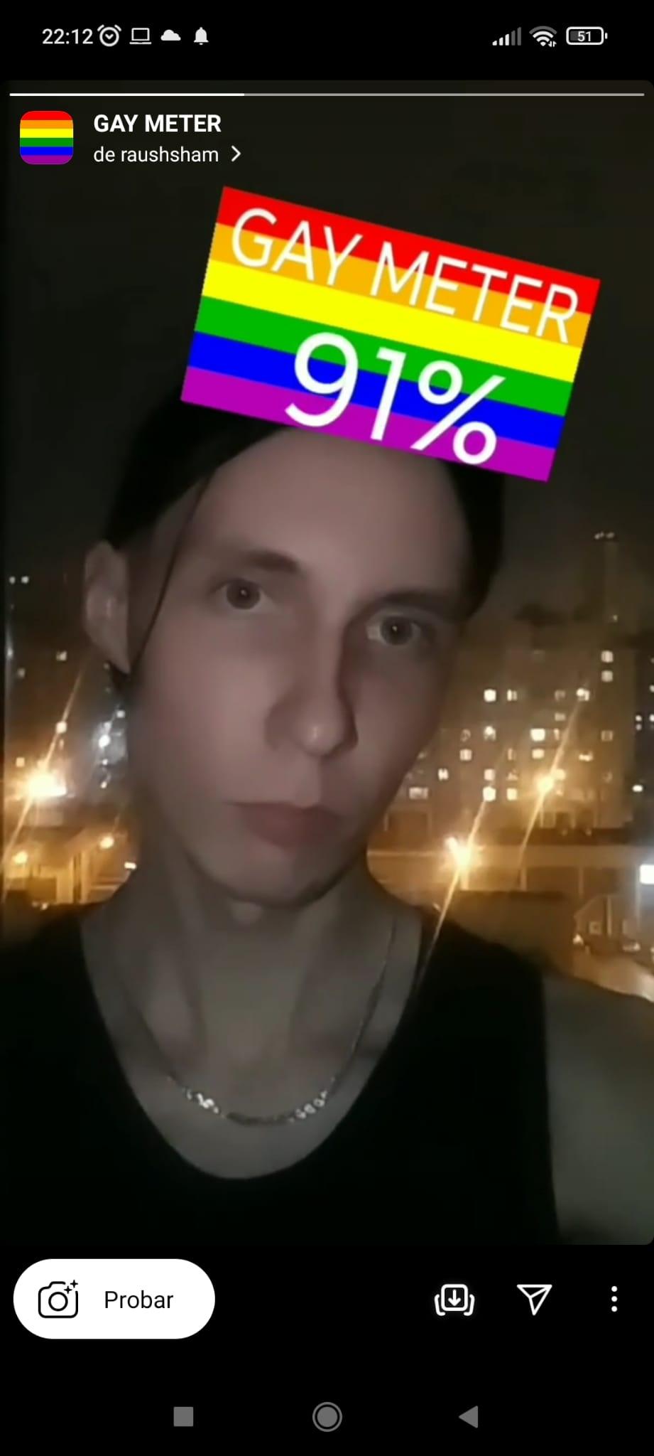 Gay meter